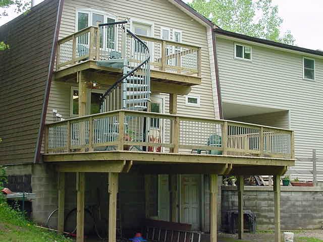 outdoor deck kits outdoor deck kits