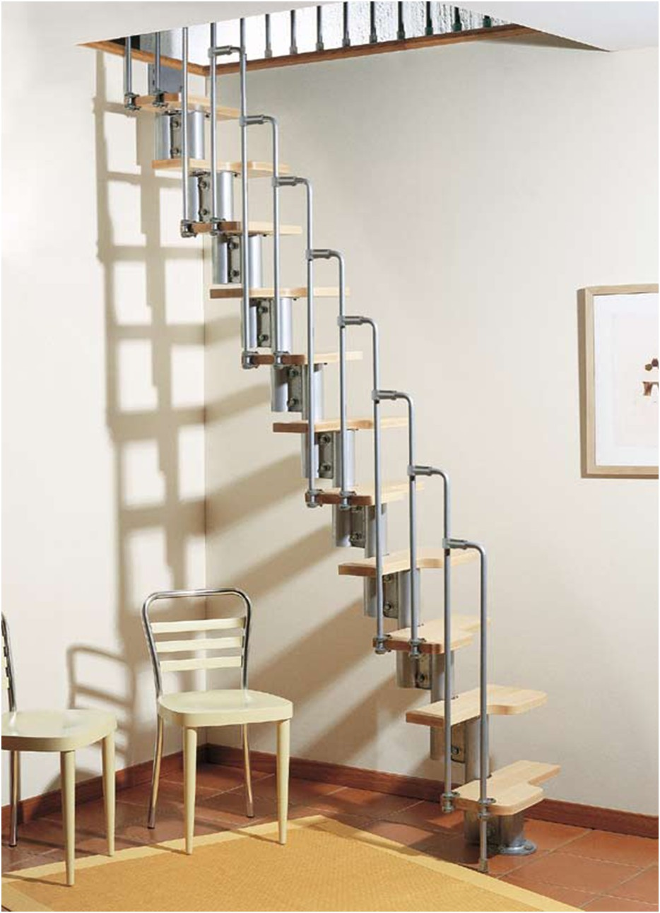 Charmant Karina Modular Staircase Kit   Metal, Steel And Wood Spiral Staircase    Fontanot