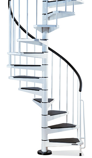 Civik Spiral Staircase Kit   Metal, Steel And Wood Spiral Staircase    Fontanot