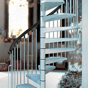 Exterior archives metal steel and wood spiral staircase - Exterior metal spiral staircase cost ...
