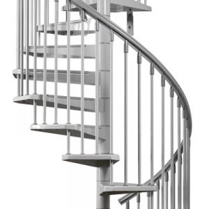 Enduro Steel Outdoor Spiral Staircase Kit · Eureka_exterior. Eureka_full1