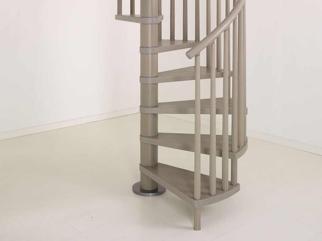Genius Spiral Stairs   Metal, Steel And Wood Spiral Staircase   Fontanot