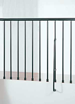 Balcony Rail Kit Metal Steel And Wood Spiral Staircase