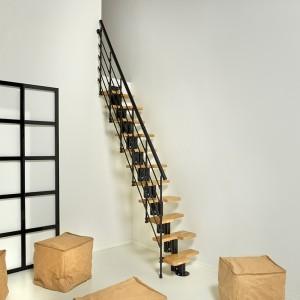 Karina Modular Staircase Kit Metal Steel And Wood