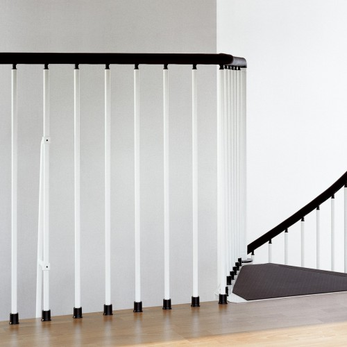 CIVIK WHITE BALCONY RAIL