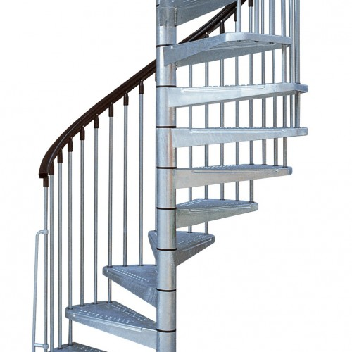 metal outdoor spiral staircase exterior stairs