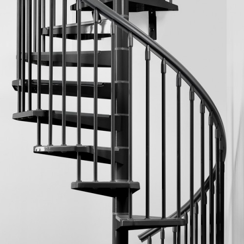 eureka spiral staircase metal steel and wood spiral staircase