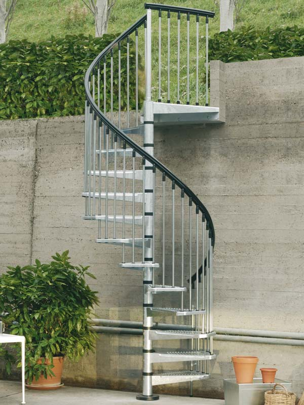 civik spiral staircase kit enduro steel outdoor spiral staircase kit