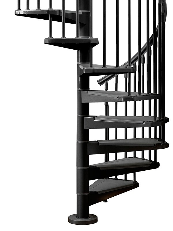 Eureka Spiral Staircase   Metal, Steel And Wood Spiral Staircase   Fontanot