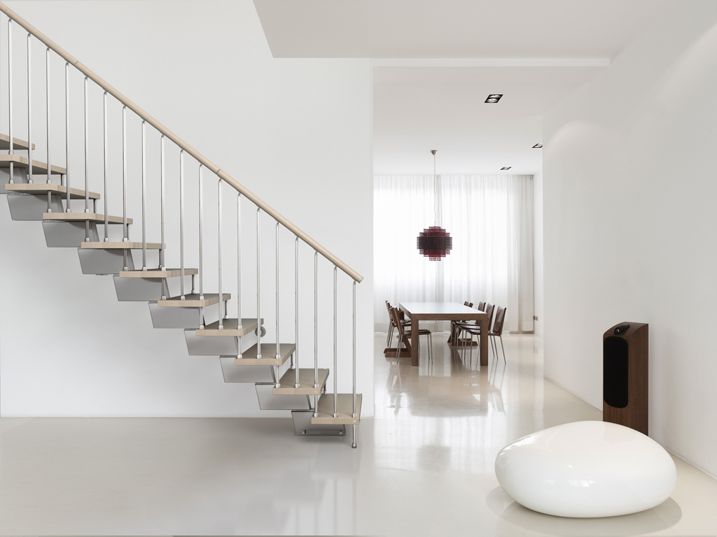 Genius Modular Stairs - Metal, Steel and Wood Spiral Staircase ...